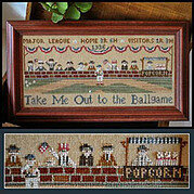 Take Me Out to the Ballgame - Cross Stitch Pattern