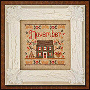 Cottage of the Month November - Cross Stitch Pattern