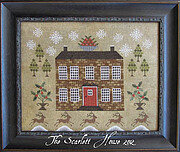 Christmastide at Holly House - Cross Stitch Pattern