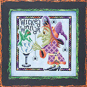 Wicked Wanda - Cross Stitch Pattern
