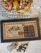 Feast Of Friendship - Cross Stitch Pattern