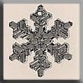 Mill Hill 12039 Large Snowflake - Crystal