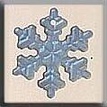 Mill Hill 12161 Small Snowflake - Matte Crystal AB