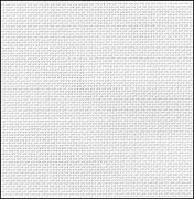 36 Count White Evenweave Fabric 35x36