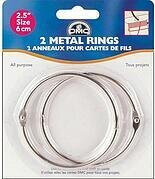 DMC 2 1/2 inch Metal Rings