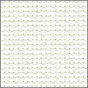14 Count Antique White Aida Fabric 30x36