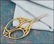 Gold Butterfly Embroidery Scissors