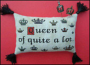 Queen of Quite a Lot - Cross Stitch Pattern