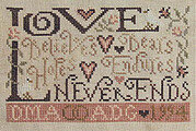 Forever Love - Cross Stitch Pattern