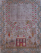Sarah Chapple 1831 - Cross Stitch Pattern