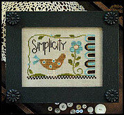 Simplicity (bird) - Cross Stitch Pattern