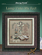 Lamp Unto My Feet - Cross Stitch Pattern