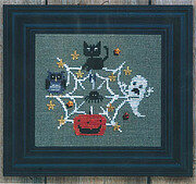 Find Your Way Halloween - Cross Stitch Pattern