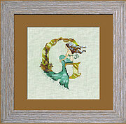 Letters from Mermaids G - Cross Stitch Pattern