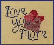 Love You More - Cross Stitch Pattern
