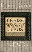 Praise Jesus - Cross Stitch Pattern
