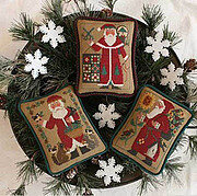 Santas Revisited - Cross Stitch Pattern