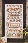 Bucklebury Sampler - Cross Stitch Pattern