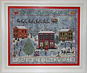 Carols on the Square - Cross Stitch Pattern