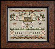 Tumbleweeds 3 American Frontier - Cross Stitch Pattern