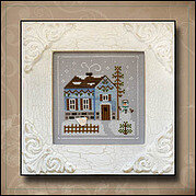 Frosty Forest 7 - Snowgirl's Cottage - Cross Stitch Pattern