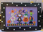 Halloween Parade - Cross Stitch Pattern