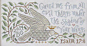 Shadow Of Your Wings - Cross Stitch Pattern
