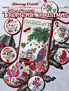 Mrs Claus Tropical Christmas - Cross Stitch Pattern
