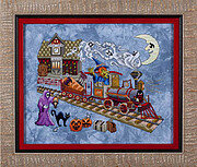Eerie Express - Cross Stitch Pattern