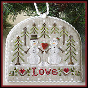 Snow Love - Cross Stitch Pattern