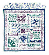 Let's Quilt - Cross Stitch Pattern