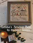 Leona's Sewing Box - Cross Stitch Pattern