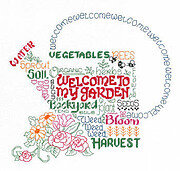 Let's Garden - Cross Stitch Pattern