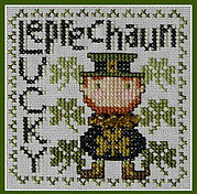 Lucky Leprechaun (Wordplay) - Cross Stitch Pattern