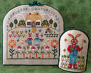 Cottontail Cottage - Cross Stitch Pattern