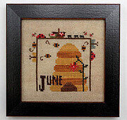 Joyful Journal - June - Cross Stitch Pattern