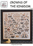 Crowns of the Kingdom - Cross Stitch Pattern