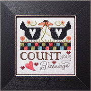 Count Your Blessings (Simply Inspirational) - Cross Stitch
