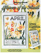 Flowers of the Month - April - Cross Stitch Pattern
