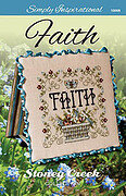 Faith (Simply Inspirational) - Cross Stitch Pattern