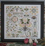 Dreaming of Roses - Cross Stitch Pattern