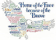 Let's Be Brave - Cross Stitch Pattern