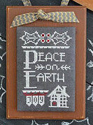 Year in Chalk December - Cross Stitch Pattern