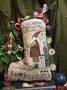 Slater's Stocking - Cross Stitch Pattern