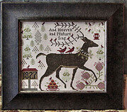 And Heaven and Nature Sing - Cross Stitch Pattern