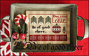 Be of Good Cheer - Cross Stitch Pattern