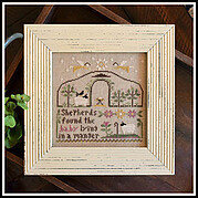 Born in a Manger - Cross Stitch Pattern