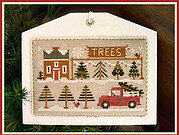 Tree Lot - Hometown Holiday - Cross Stitch Pattern