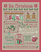 It's Christmas - Cross Stitch Pattern