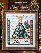 Rejoice Tree - Cross Stitch Pattern